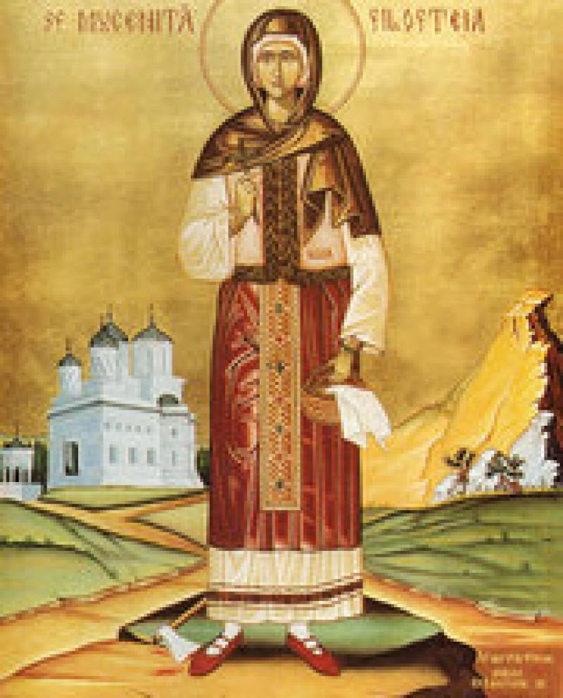 ASTAZI: Sfanta Filofteia