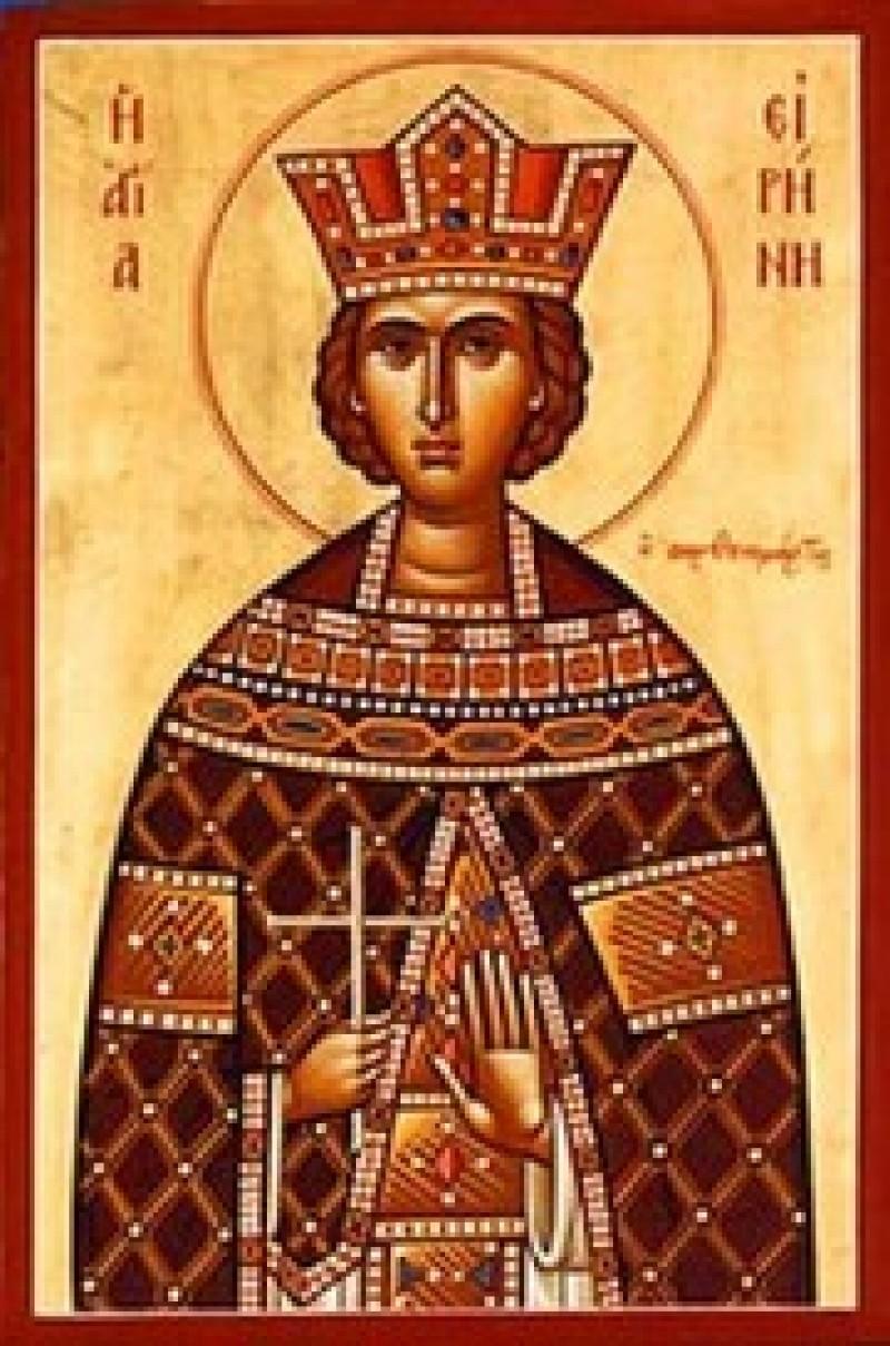 ASTĂZI: Sfânta Irina, purtătoarea de pace!