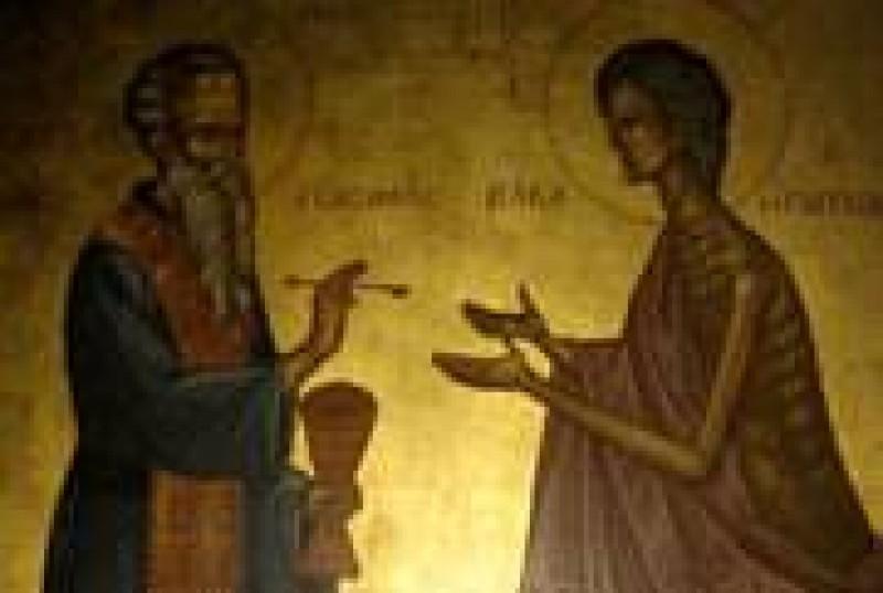 ASTAZI: Sfanta Maria Egipteanca