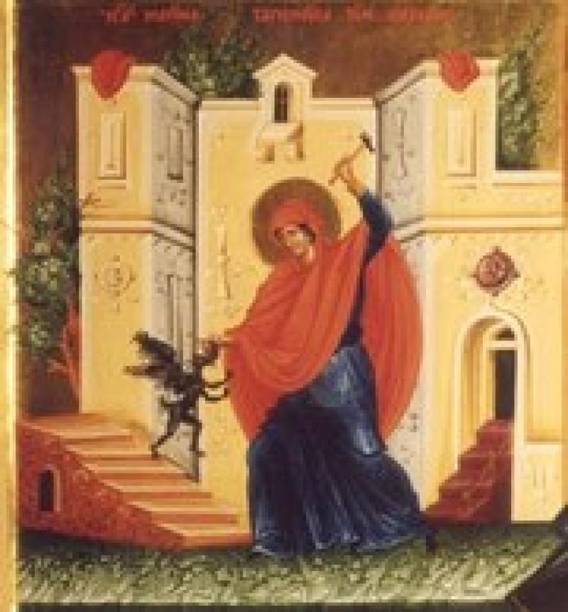 ASTĂZI: Sfânta Marina, izbăvitoarea de duhuri rele