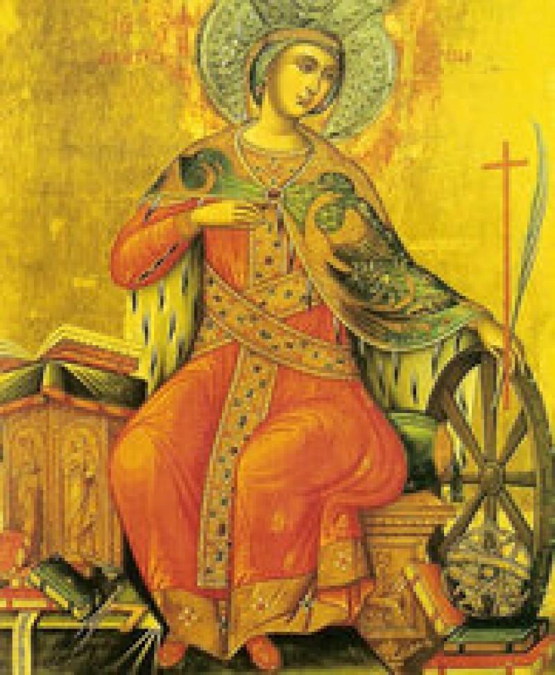 ASTAZI: Sfanta Mucenita Ecaterina
