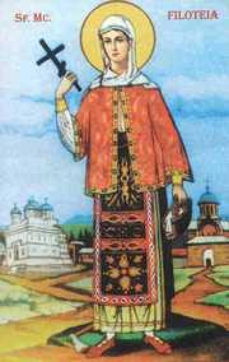 Astazi: Sfanta Mucenita Filofteia. Traditii pentru spor si sanatate la praznicul Mucenitei