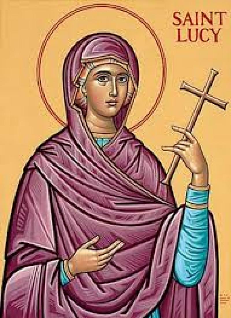 ASTĂZI: Sfânta Muceniță Lucia! VIDEO