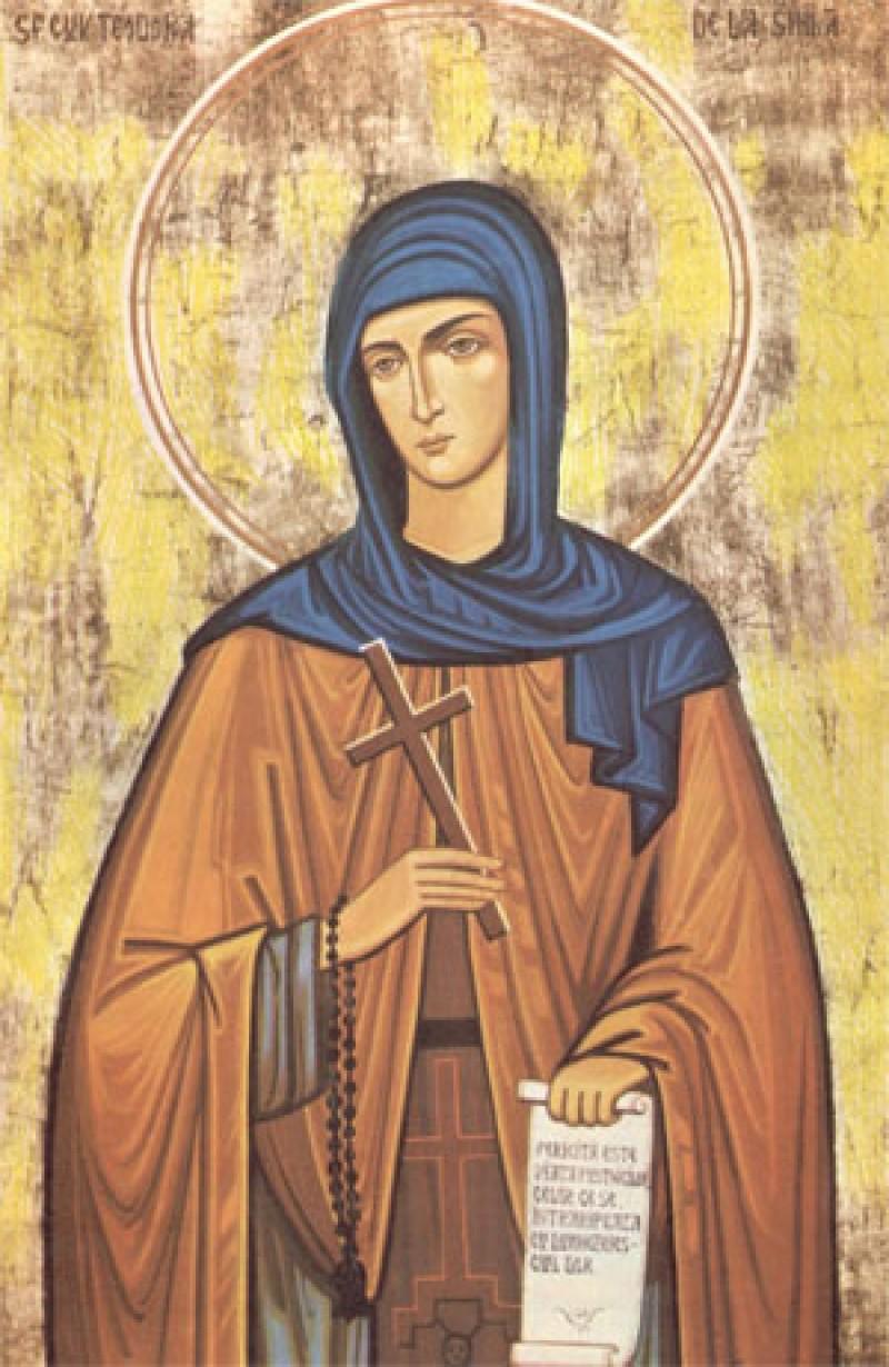 ASTAZI: Sfanta Teodora de la Sihla
