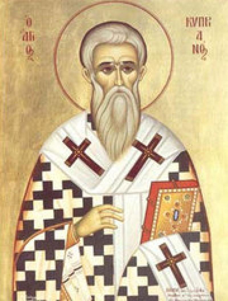 ASTĂZI - Sfântul Ciprian - leapădă vrăjitoria și ajunge episcop