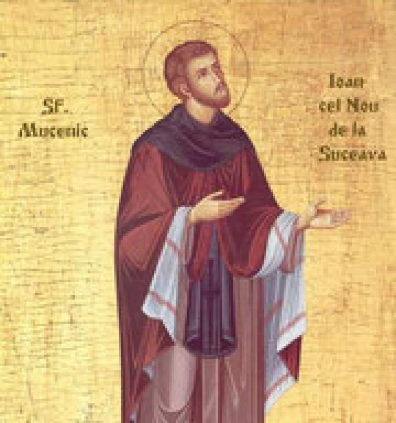 ASTAZI: Sfantul Ioan cel Nou de la Suceava!