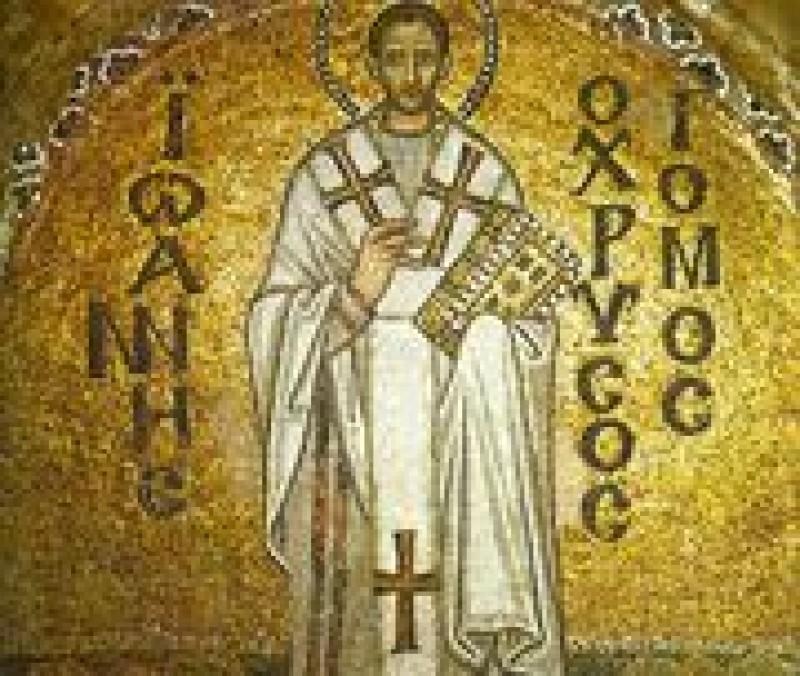 ASTAZI: Sfantul Ioan Gura de Aur