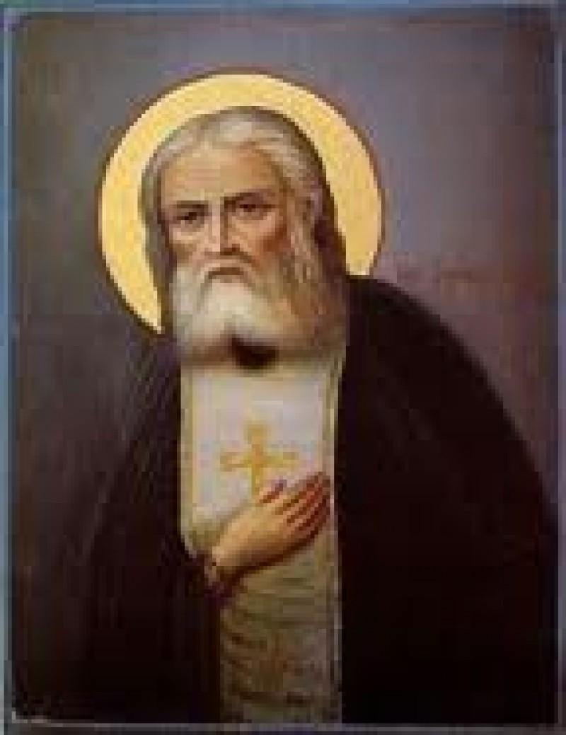 Astazi: Sfantul Serafim de Sarov