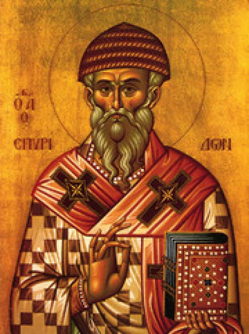 ASTAZI: Sfantul Spiridon al Trimitundei. Traditii pentru spor si sanatate
