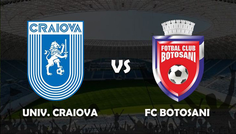 Astăzi: Universitatea Craiova - FC Botoşani, ora 14.30