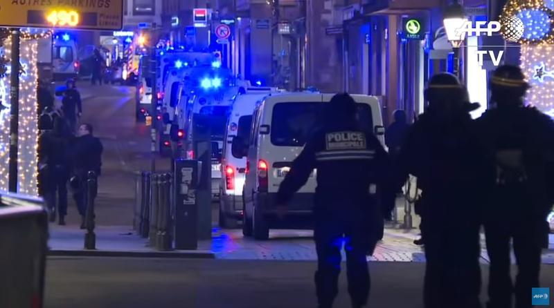 Atac armat în centrul orașului Strasbourg, lângă Târgul de Crăciun: 3 morți și 12 răniți