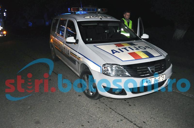 Atenție, alcool la bord! Șofer beat criță, prins de polițiști în miez de noapte