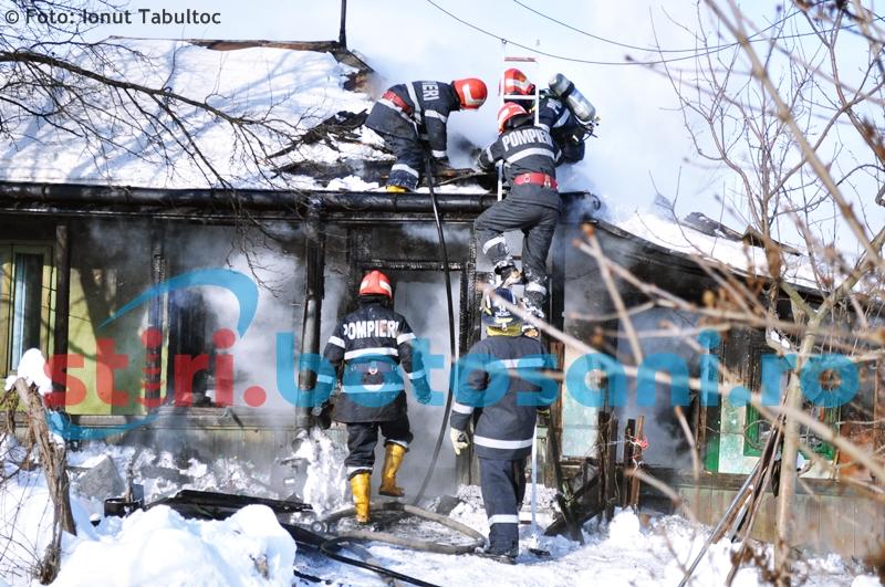 ATENȚIE botoșăneni! Curățați-vă coșurile de fum! 77 de pompieri au intervenit pentru a stinge opt incendii, în doar două zile!