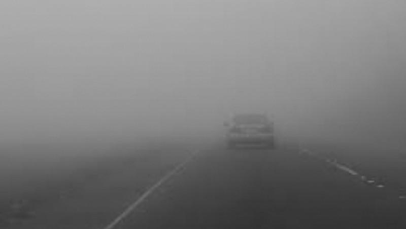 Atenție dacă plecați la drum: Este Cod Galben de ceață în mai multe zone din județul Botoșani!