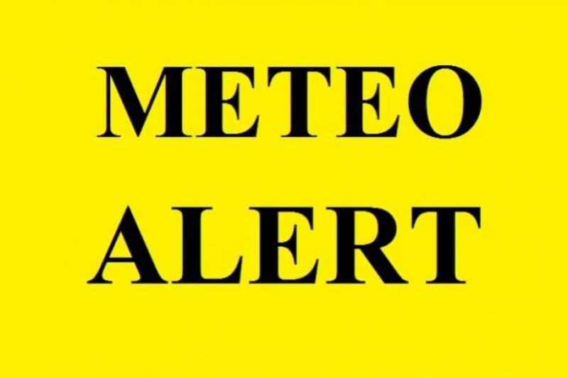 Atenție dacă plecați la drum: Județul Botoșani este sub COD GALBEN până la 13.00!
