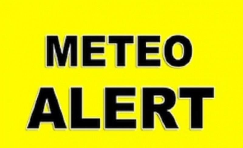 Atenționare meteo: COD GALBEN în 17 județe, printre care și Botoșani!