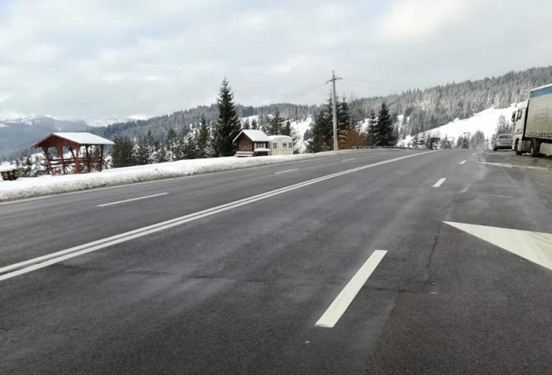 Atenționare pentru șoferi: Carosabil umed, zăpadă frământată. Cum va fi vremea în Botoșani până marți!