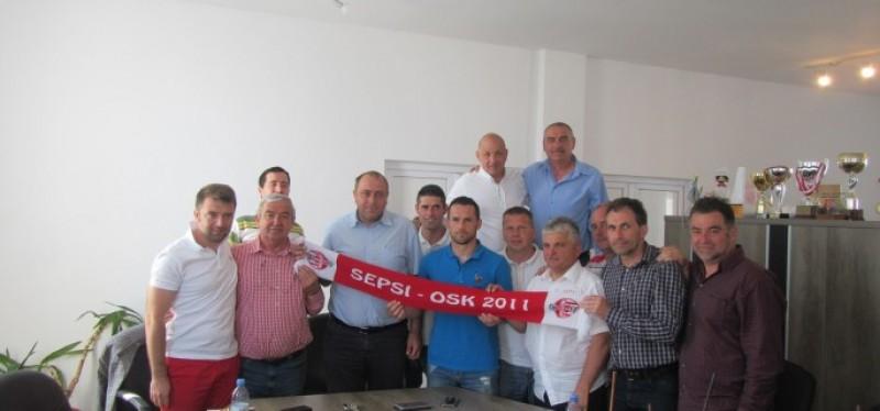 Attila Hadnagy, prezentat oficial la Sepsi OSK Sfantu Gheorghe!