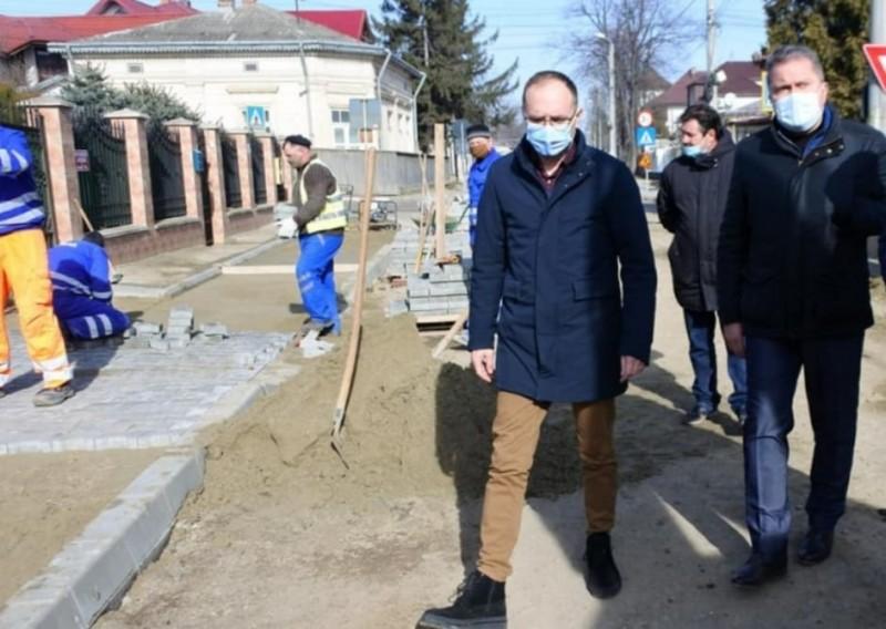Au început lucrările de reabilitare pe strada Iuliu Maniu (FOTO)