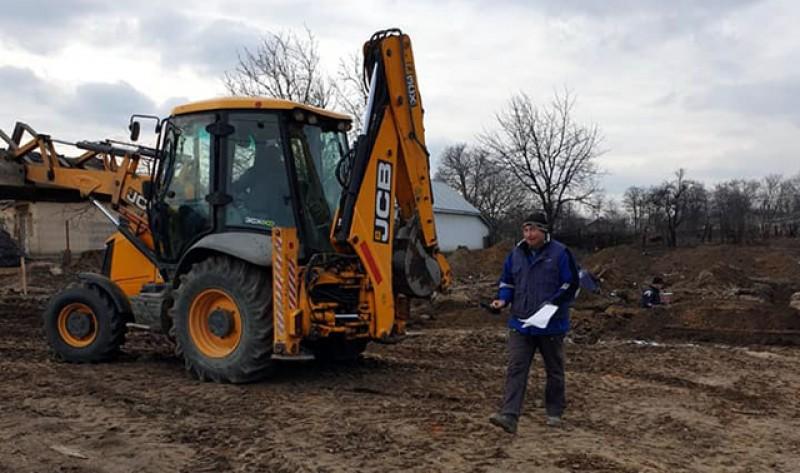 Au început lucrările pentru construirea noii grădinițe din satul Stâncești