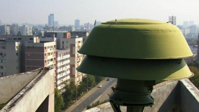 """Au sunat din nou alarmele la Botoșani. Este """"Miercurea alarmelor"""""""
