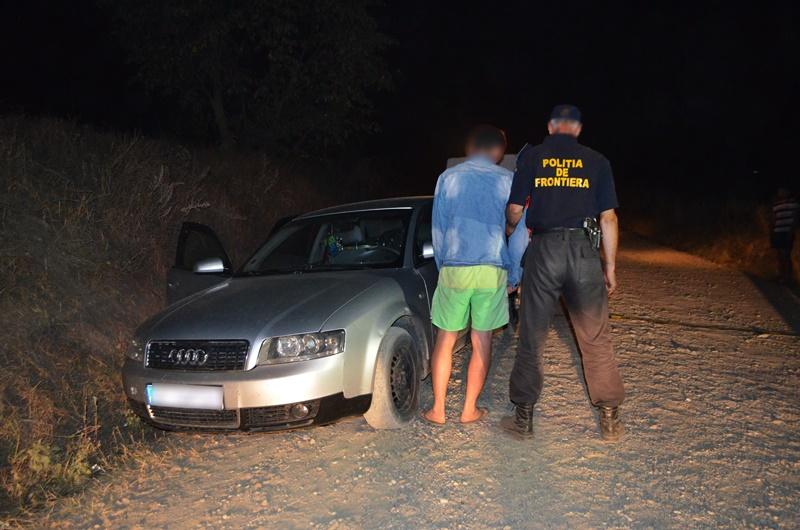 Audi plin cu țigări de contrabandă oprit în trafic! Șoferul nu știa cui i le va duce ! FOTO, VIDEO