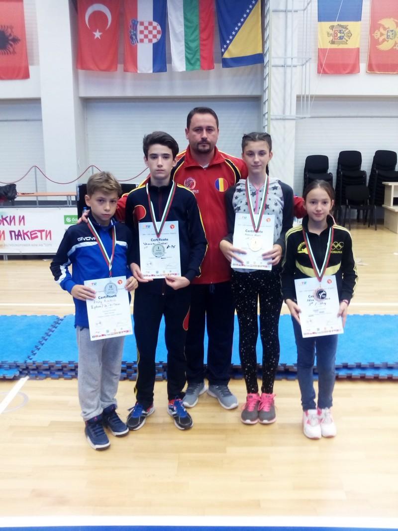 AUR la cea de a XVIII a editie a Campionatului Balcanic la Taekwondo WTF!