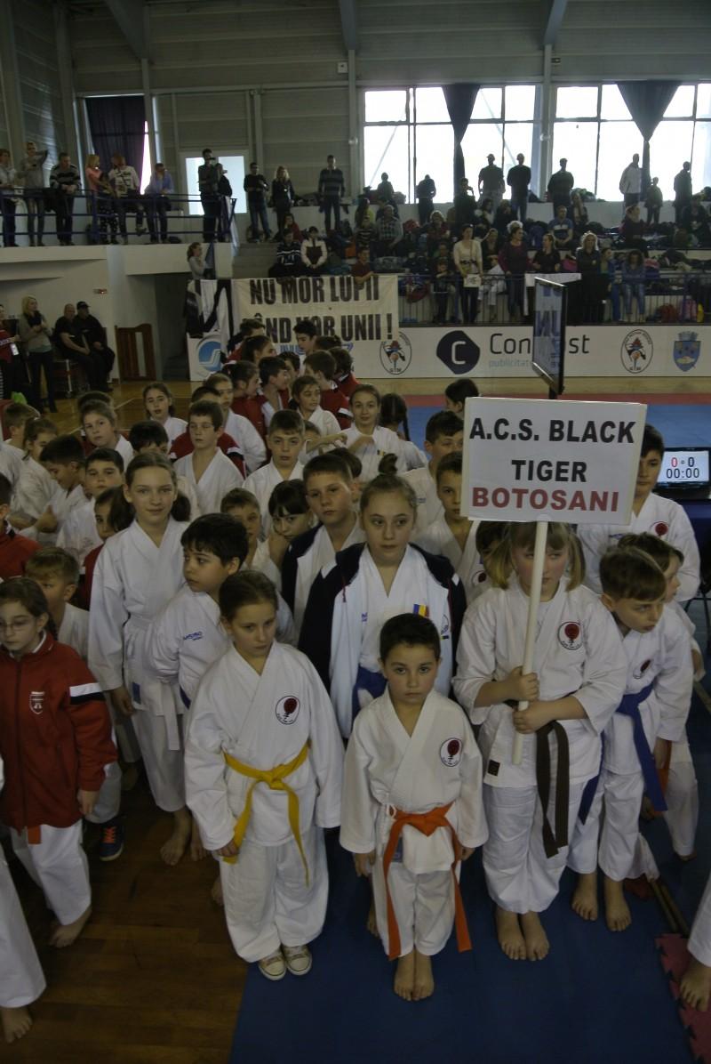 Aur şi bronz pentru sportivii la Black Tiger, la Campionatul national de karate WKC!