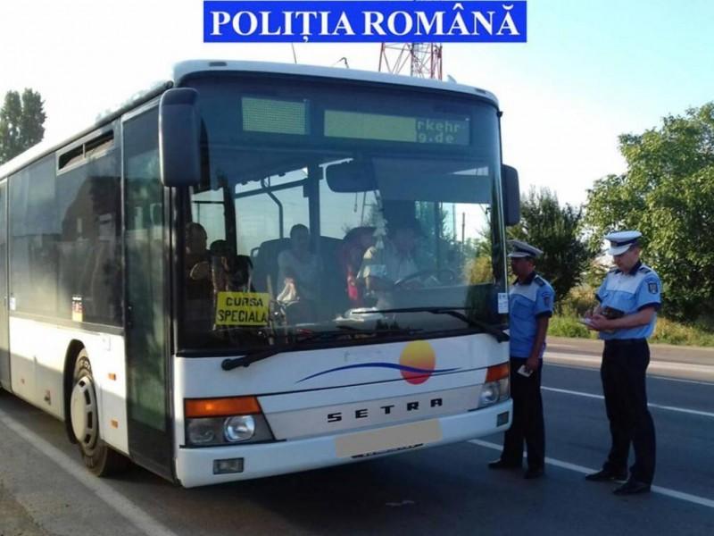 Autocar tras pe dreapta: Ce au găsit polițiștii în bagajul unui botoșănean!
