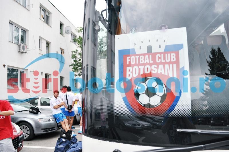 Autocare puse la dispozitie de FC Botosani, pentru suporterii din mediul rural!