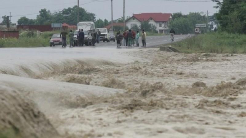 Autorităţi în alertă cu privire la pericolul de inundaţii