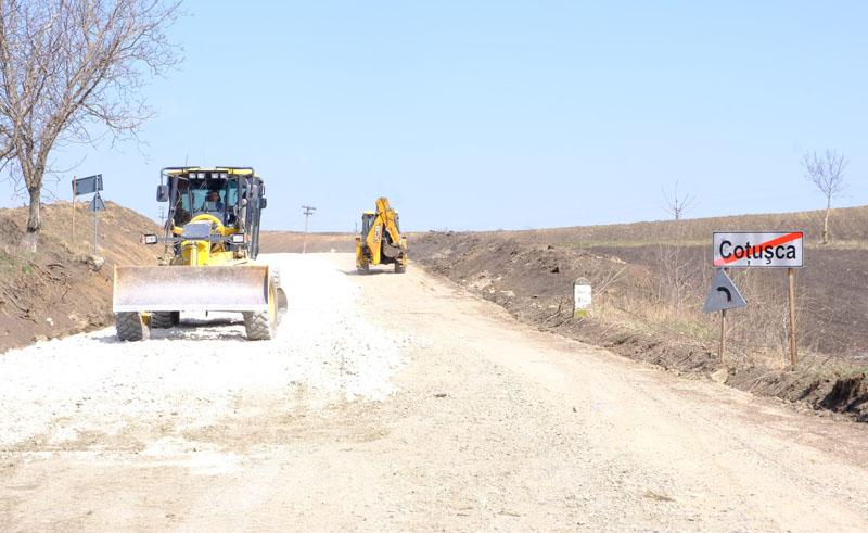 Autoritățile speră ca drumul Coțușca – Ghireni - DN 24C să fie gata până la finele 2021