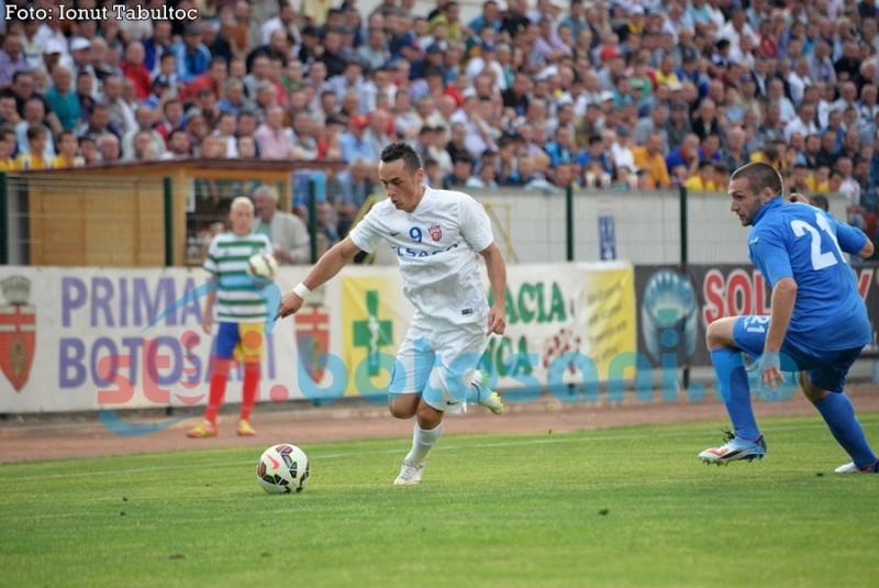 """Autorul golului celor de la FC Botosani, Petre Ivanovici: """"Avem sanse mai mari decat ei sa ne calificam"""""""