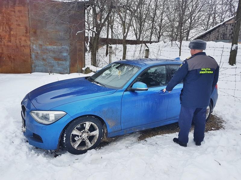 Autoturism de lux furat din Norvegia, descoperit în Botoşani!