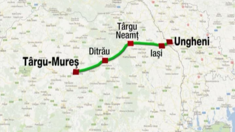 Avertisment public. Autostrada A8 − Ungheni-Iași-Târgu Mureș − se află în pericol de blocaj!