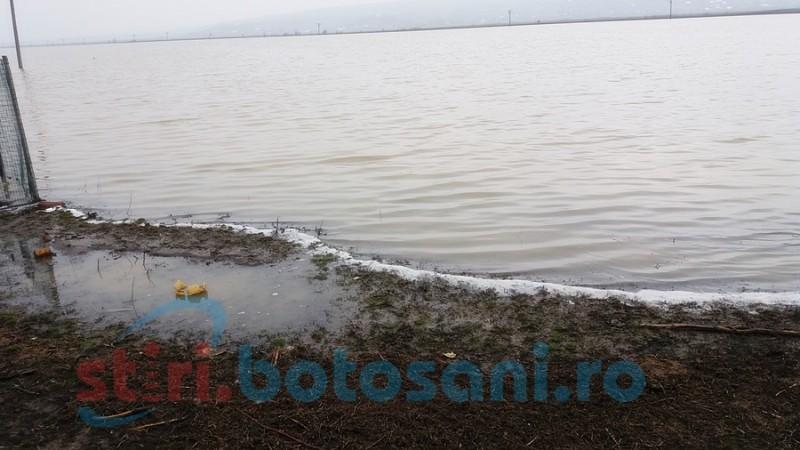 Avertizare de la hidrologi: DEPĂȘIRI ale cotelor de atenție pe râuri din județul Botoșani!