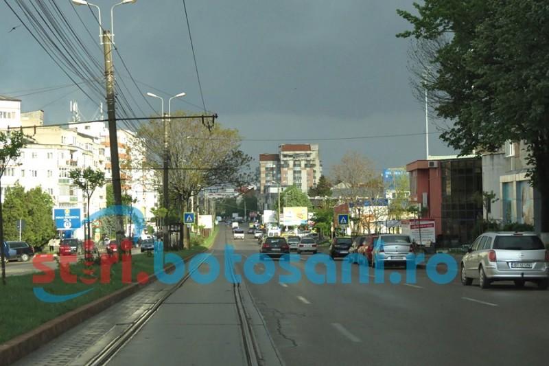 Avertizare de vânt puternic în județul Botoșani!