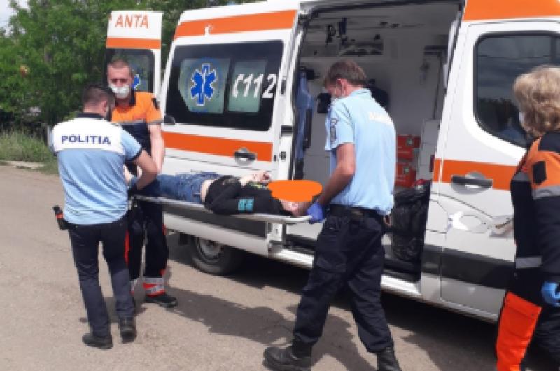 Băiat de 13 ani la spital, după un accident cu bicicleta