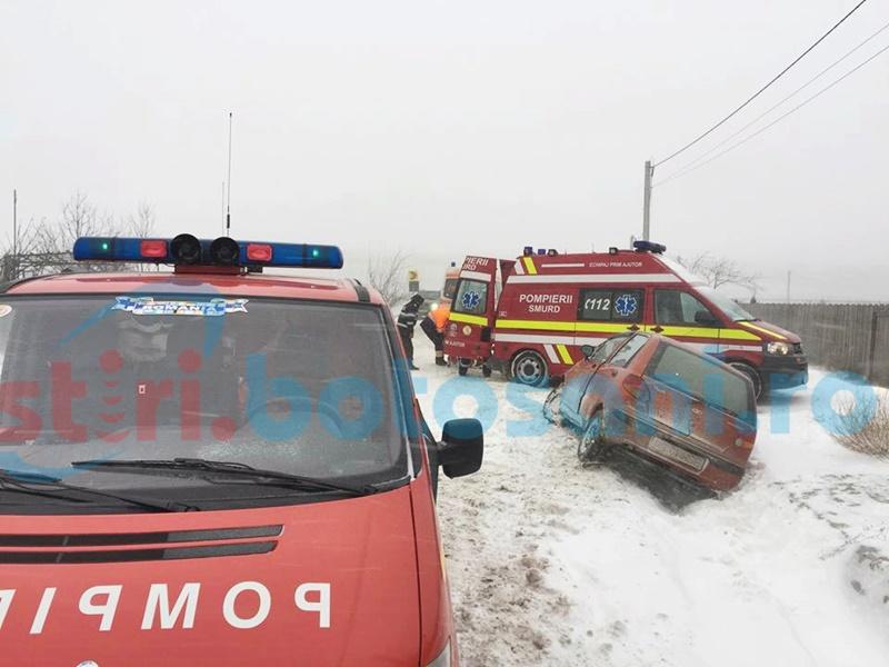 Accident grav cu trei victime la Baisa! A fost nevoie de intervenția pompierilor de la descarcerare! FOTO