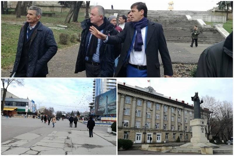 Primarul municipiului Botoşani vrea să atragă fonduri de milioane de euro, alături de Primăria Bălţi. Ce proiecte comune au cele două oraşe! FOTO