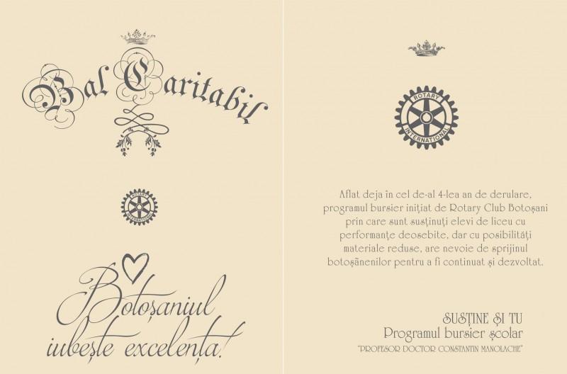 Balul caritabil Rotary, o poveste de iubire între Generozitate și Excelență!