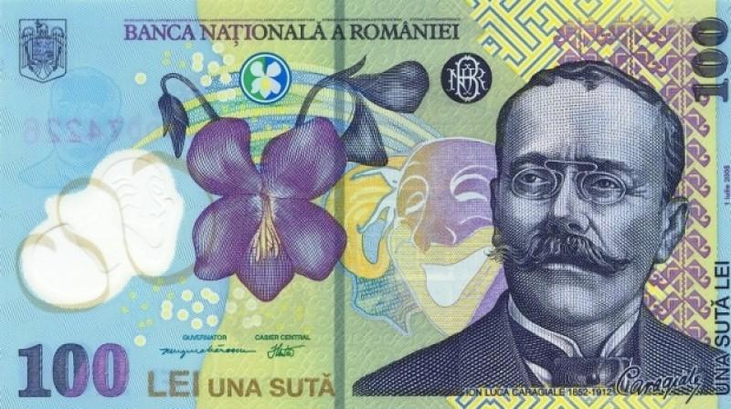 Bancnota de 100 lei, în topul preferințelor falsificatorilor de bani din România