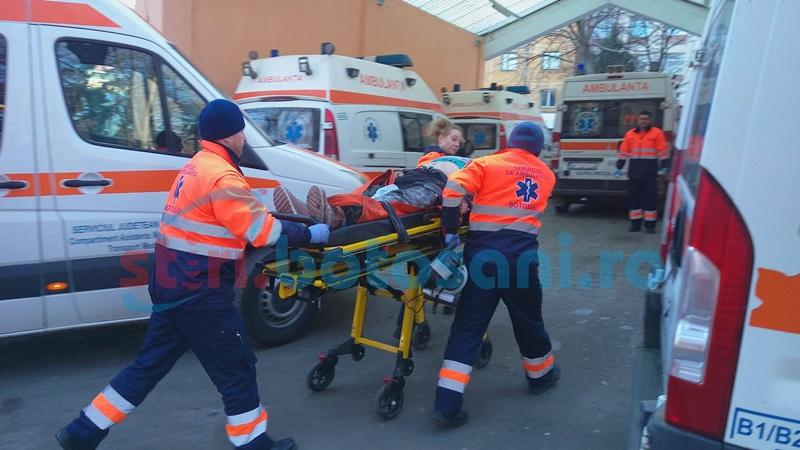 Bărbat adus la Urgenţe după ce i s-a făcut rău în timp ce muncea la o şcoală! FOTO