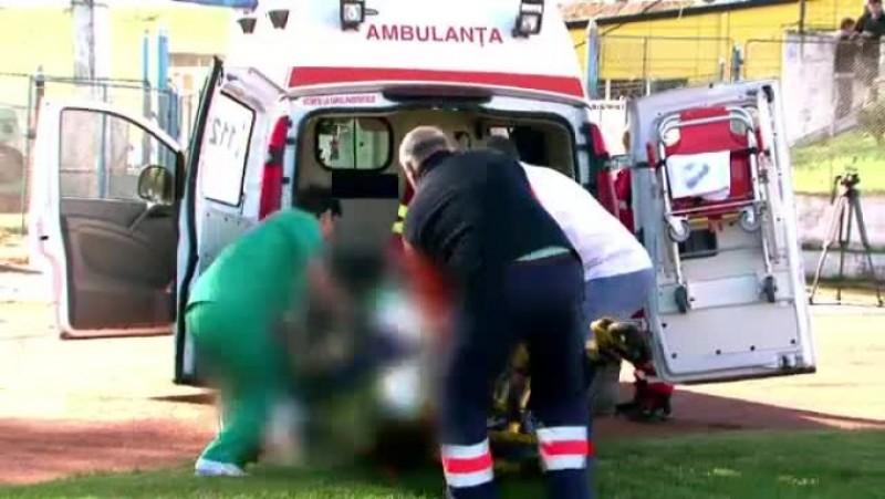 Bărbat ajuns la spital în stare gravă după ce a fost lovit de propriul cal