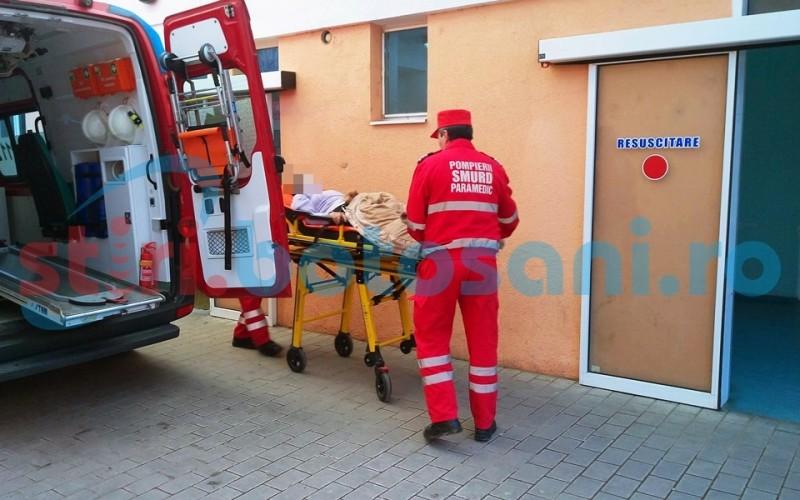 Bărbat ajuns la Urgenţe după un incident cu propriul faeton
