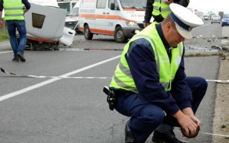 Bărbat din Dorohoi, rănit într-un carambol cu patru mașini