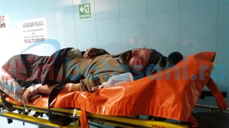 Bărbat fără adăpost, adus în Urgenţe după ce a fost bătut!