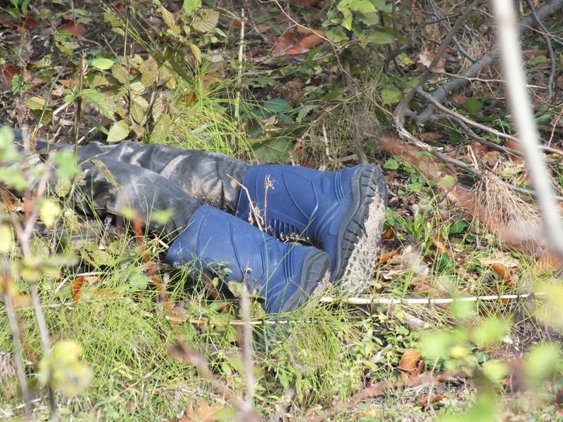 Bărbat găsit mort într-o pădure din județ
