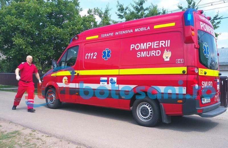 Bărbat mort într-o parcare din municipiul Botoșani!