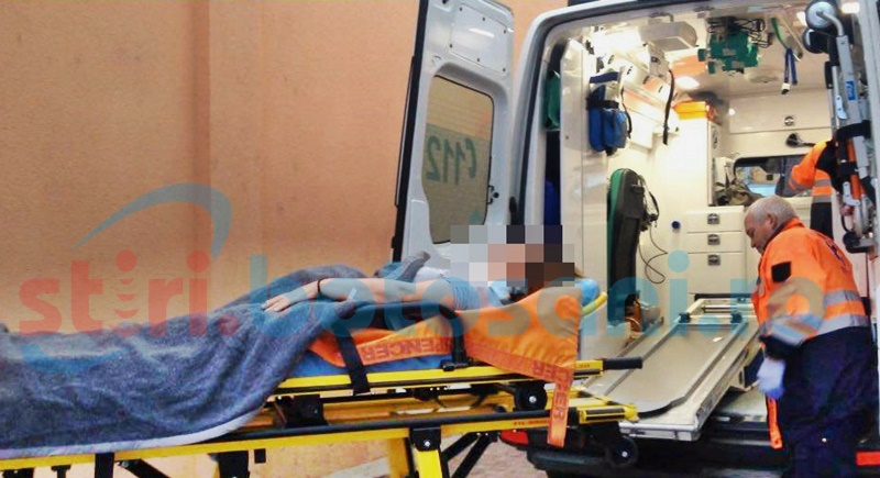 Bărbatul care şi-a înjunghiat iubita în gât, arestat preventiv!